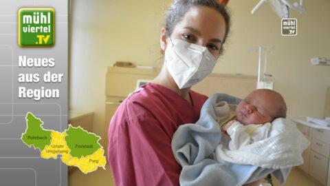 Geburten 2020: 459 Babys im Klinikum Freistadt und 606 im Klinikum Rohrbach
