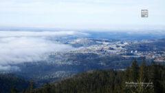 Nebelmeer am Fuße des Dreisesselberges
