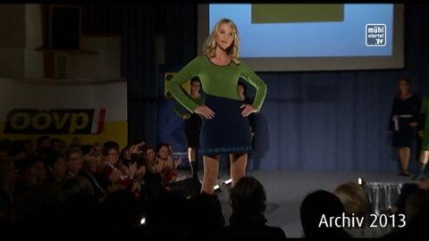 Ökofaire und regionale Mode im Aufwind – Modeschau in Baumgartenberg 2013