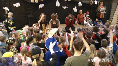 Kinderfasching in Lichtenberg 2013