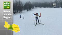 Biathlon Staatsmeisterschaft Schüler: David Hammer u. Fabian Hochreiter holen Rang 3 mit der OÖ-Staffel