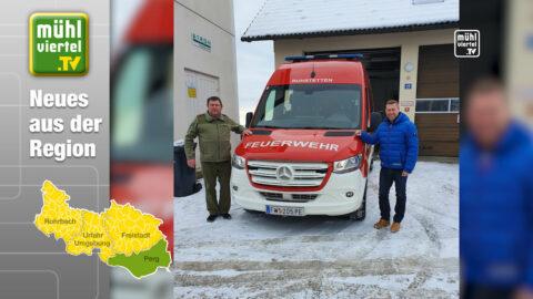 FF Ruhstetten in Katsdorf neu ausgerüstet