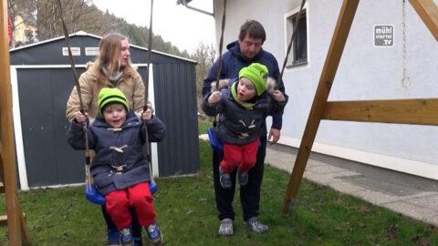 Bezirksrundschau Christkindaktion – zu Besuch bei Fam. Unger in Saxen