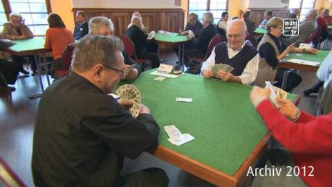 Bezirkstarockturnier in Steyregg des OÖ Seniorenbundes 2012