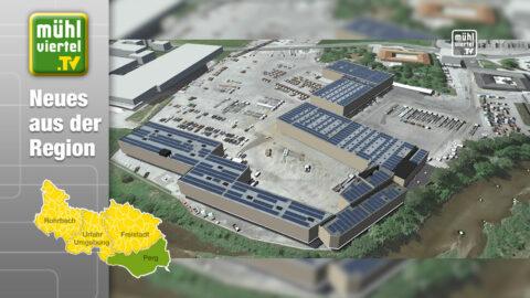 Neue Photovoltaik-Anlage bei Hödlmayr