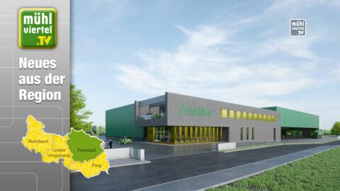 Spatenstich für das Logistikzentrum der Braucommune in Freistadt