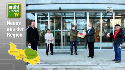 Danke an das Corona-Einsatzteam der BH Freistadt