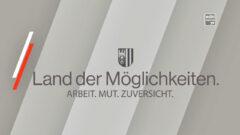 Bundeskanzler Kurz und Landeshauptmann Stelzer im Gespräch