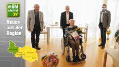 Gratulation zum 100. Geburtstag von Paula Krenn