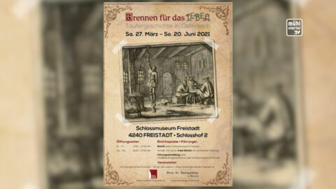 """Ankündigung Ausstellung """"Brennen für das Leben"""" 2021"""