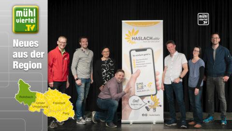 Neue Haslach Aktiv App stärkt die regionale Wirtschaft im Bezirk Rohrbach