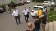 Vizekanzler Kogler und Landesrat Kaineder bei uns im TZ Freistadt