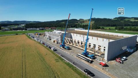 Besonderheiten vom Logistikzentrum der Brauerei Freistadt