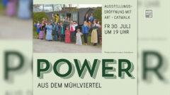 """Ausstellungseröffnung """"Power aus dem Mühlviertel"""" beim Pferdeeisenbahnmuseum Kerschbaum"""