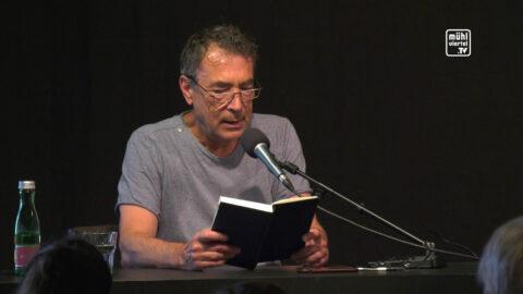 """Lesung Debütroman """"flüchtig"""" im VOI St. Martin i. Mkr."""