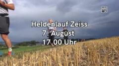 Heldenlauf Zeiss am 7.8.2021 um 17:00