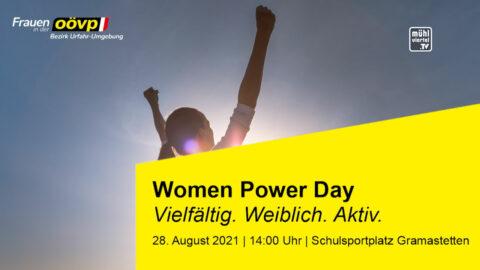 Woman Power Day in Gramastetten am 28.8.2021