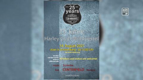25 Jahre Harley-Club Mühlviertel am 14.8.2021