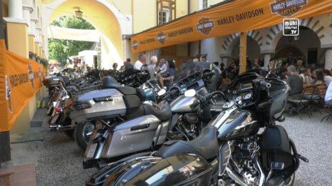 Harley-Club Mühlviertel feiert 25-jähriges Jubiläum auf der Aiserbühne Schwertberg