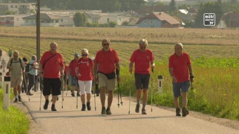 Landes-Nordic-Walking Wandertag des Pensionistenverbandes OÖ in Freistadt