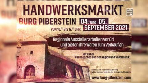 Handwerksmarkt auf Burg Piberstein 4.-5.9.2021