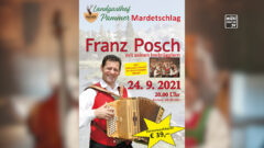 Franz Posch im Gasthof Pammer in Leopoldschlag am 24.9.2021