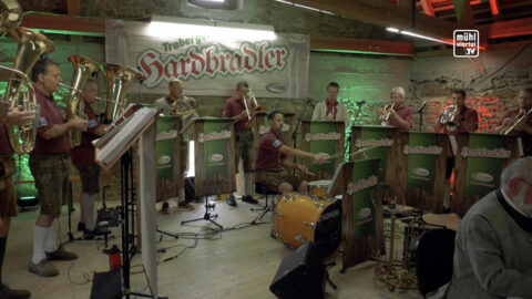CD-Präsentation Traberger Hardbradler auf Burg Piberstein