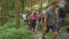 Wanderung mit LH Stelzer am Hansberg