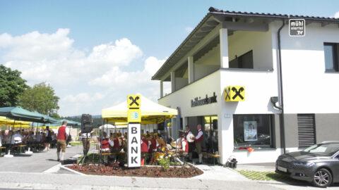 Eröffnung Raiffeisenbank Traberg