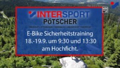 E-Bike Sicherheitstraining und MTB Techniktraining 18.-19.9.2021 am Hochficht