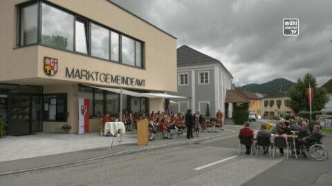 Eröffnung Amtshaus und Musikheim Lasberg