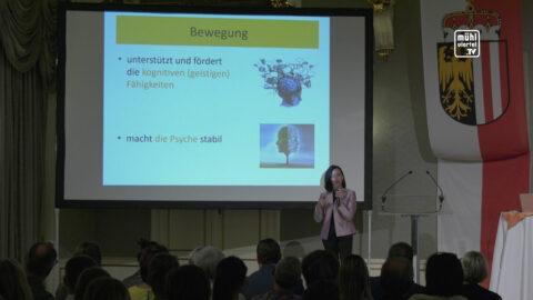 Beweg dich und dein Gehirn macht Sprünge – Vortrag Dr. Macedonia