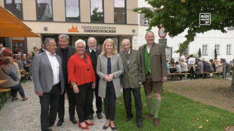 Eröffnung Gemeindezentrum in Oberneukirchen