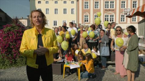 ÖVP Bürgermeisterkandidatin Elisabeth Teufer für Freistadt
