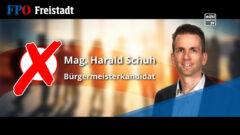 FPÖ Bürgermeisterkandidat Harald Schuh für Freistadt
