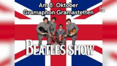 Beatles Show in Gramastetten am 8.10.2021