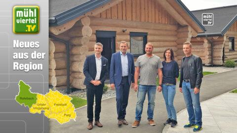 Neues Urlaubsdomizil: Blockhausen Luxus Chalets in Schwarzenberg am Böhmerwald