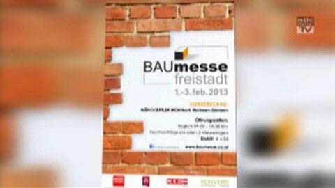 Ankündigung Baumesse Freistadt 2013
