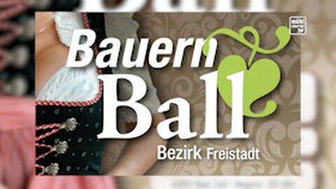 Ankündigung Bezirksbauernball Freistadt