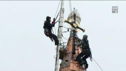 Turmkreuzsteckung in Niederkappel
