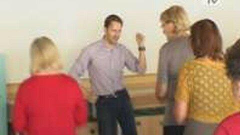 """Tanzkurs für Senioren im Zuge der neuen Bildungsinitiative """"ISA"""""""