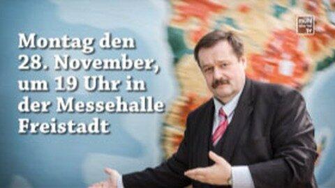 Ankündigung: Wirtschaftsempfang WKO Freistadt & VKB Freistadt