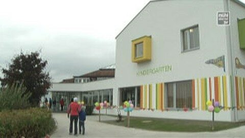 Eröffnung Kindergarten u. Krabbelstube in Altenberg