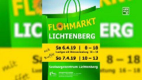 Ankündigung Flohmarkt Lichtenberg 2019