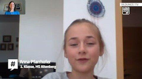 Lernen zu Hause – Interview mit Anna Pfarrhofer aus Altenberg