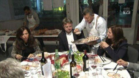 Italienisches Fest bei Strasser in St. Martin
