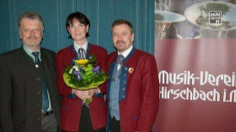 Führung Musikverein Hirschbach nun in weiblicher Hand