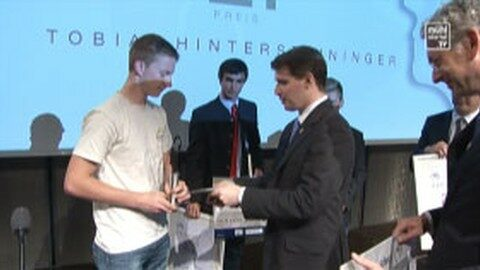 Verleihung des 1. OÖ Leistungspreises