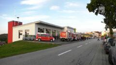 Eröffnung Feuerwehrhaus in Altenberg