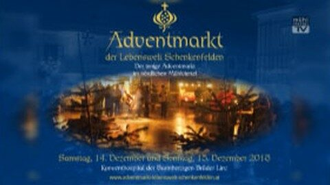 Ankündigung Adventmarkt Schenkenfelden